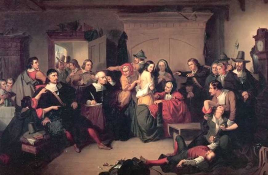 theories about the salem witch trials