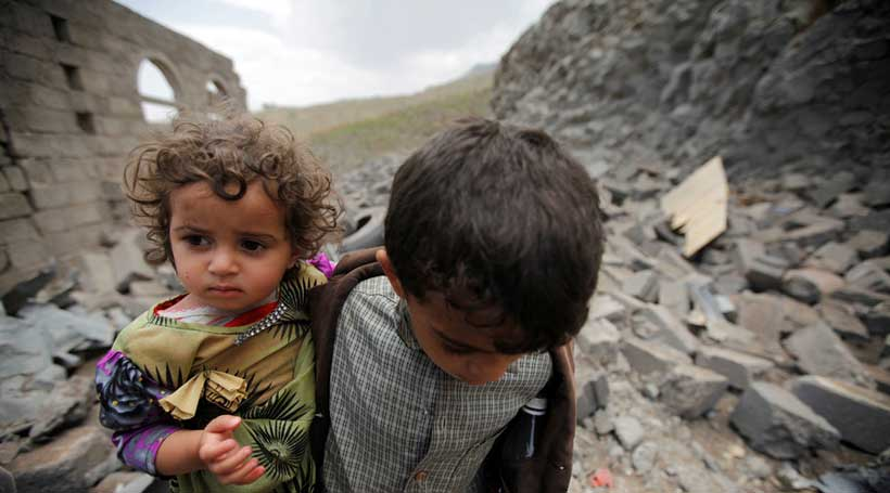 '5000 children killed or hurt in Yemen war'