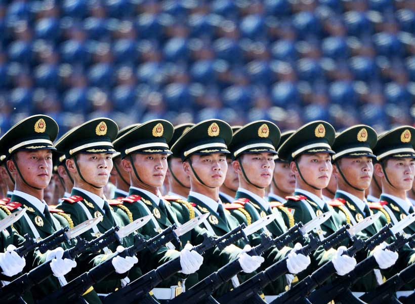China's military doctrine with President Xi Jinping - Modern Diplomacy