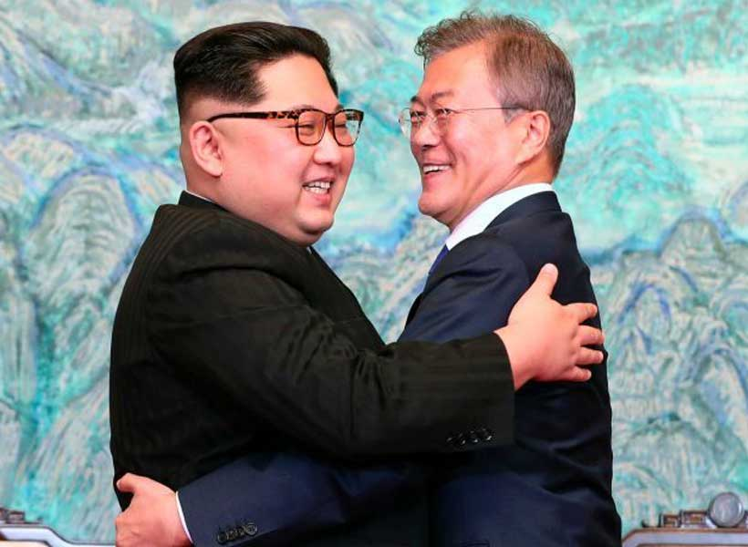 From 'fire and fury' to peace prize? Some talk of a Nobel award for Trump on North Korea.