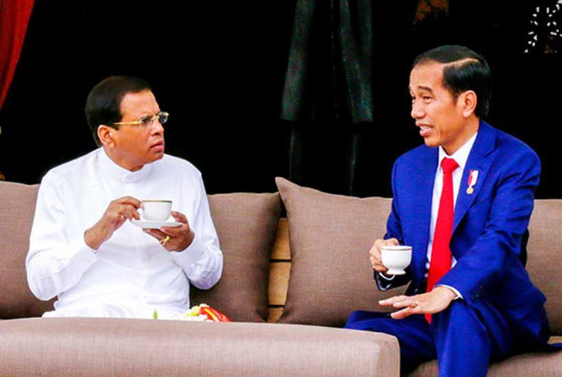 Indonesia shaping the South East Asian foreign policy of India and Sri Lanka