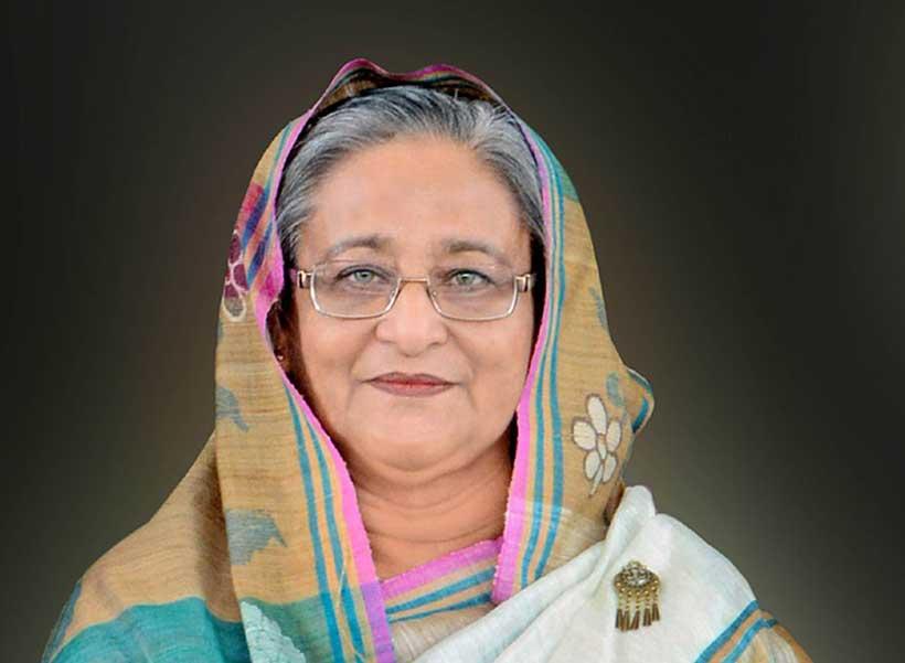 Sheikh Hasina.'