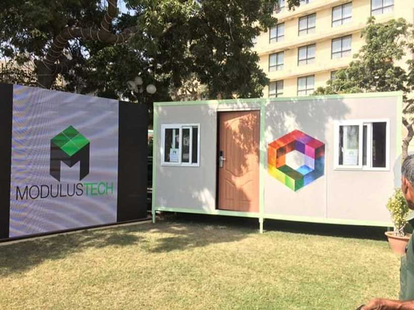 Pakistani innovators design cheap and climate-friendly flat