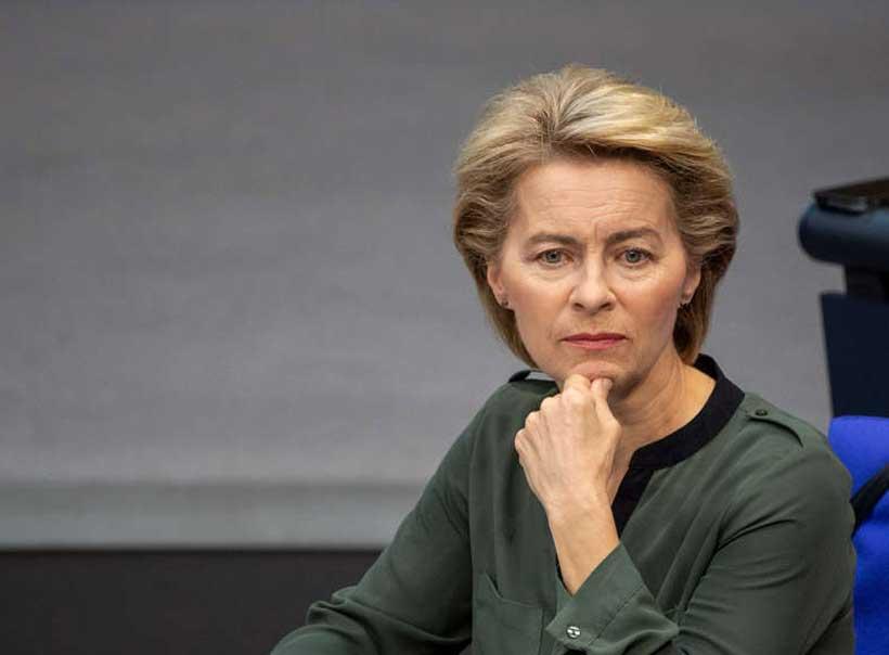 Ursula Von der Leyen narrowly approved to lead European ...  |Ursula Von Der Leyen