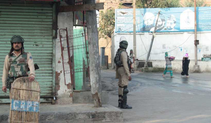 One year Siege of Kashmir - Modern Diplomacy
