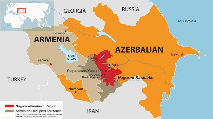 Nagorno-Karabakh Conflict In The Caucasus: What Documents Say? - Modern  Diplomacy