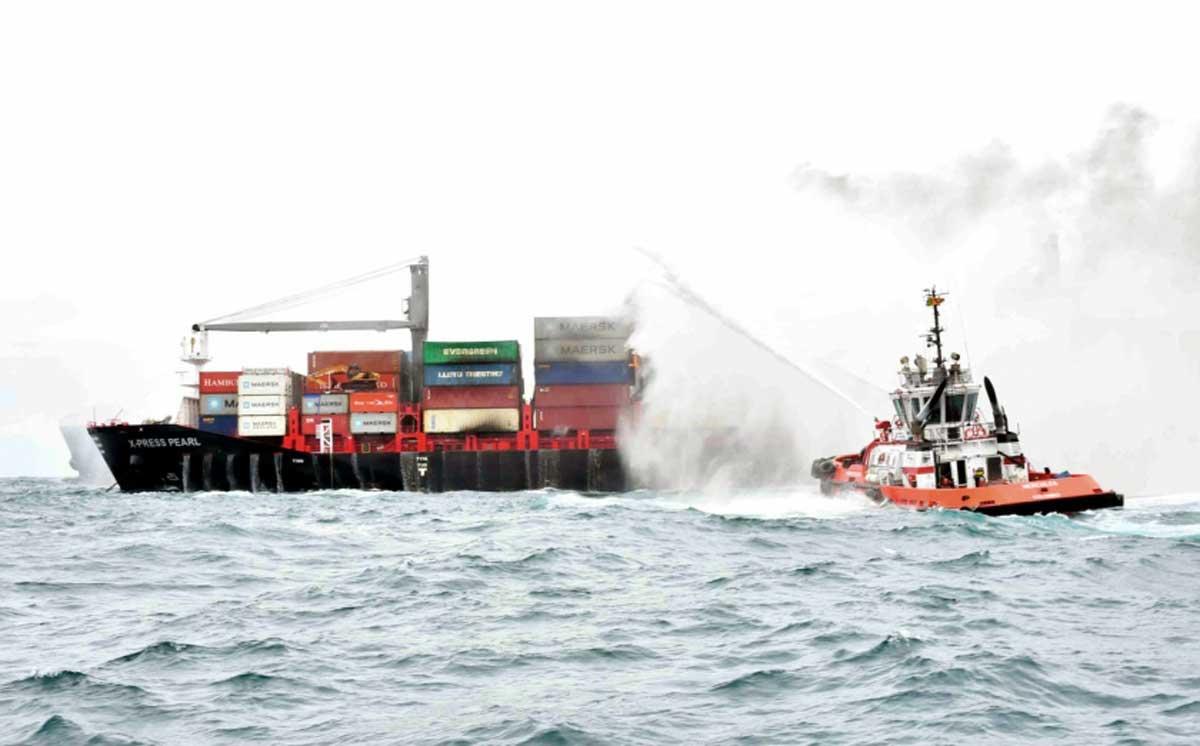 Oil, acid, plastic: Inside the shipping disaster gripping Sri Lanka - Modern Diplomacy